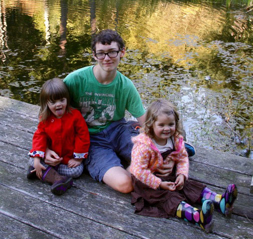 Conrad and his sisters